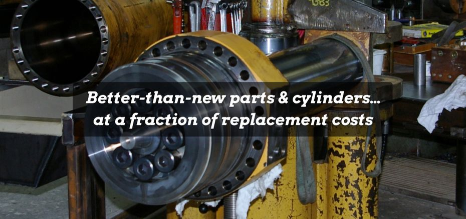 Better-than-new parts & cylinders…at a fraction of replacement costs | Cylinder Repair